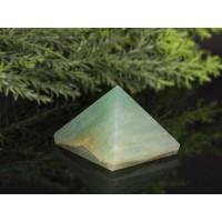 Piramit Şekilli Doğal Taş Yeşil Aventurin