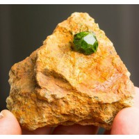 Demantoid Garnet (Yeşil) Garnet