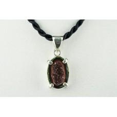 Druse Amethsyt - 925 Ayar Gümüş