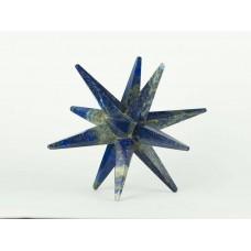Lapis Lazuli 12 Noktalı Merkaba Yıldızı, XX Büyük Boy